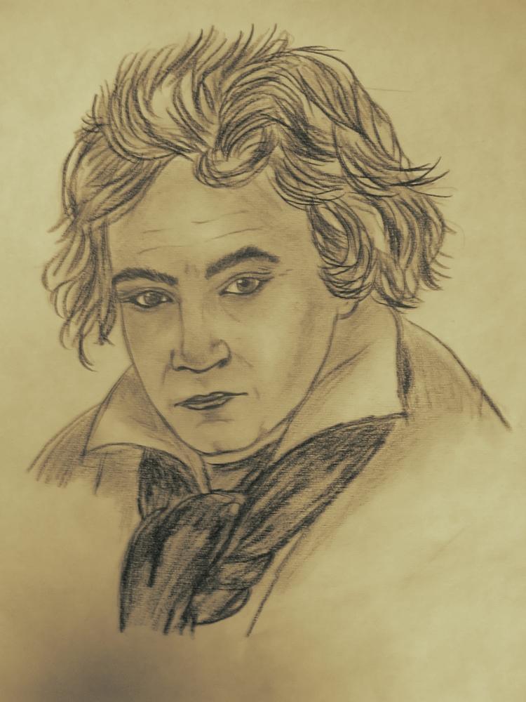Ludwig van Beethoven by kendzik